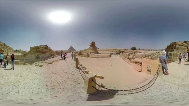 View of the Sphnix of Giza