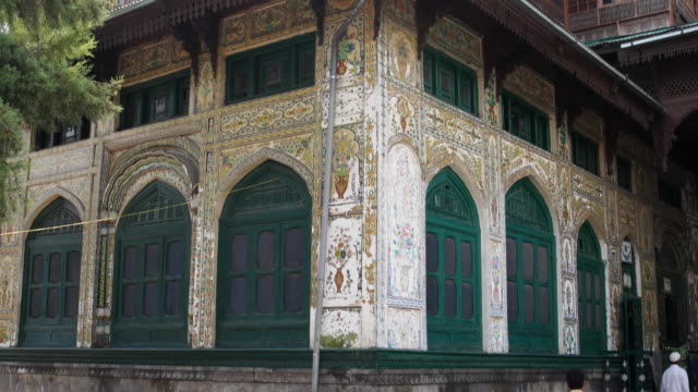 A view of the the Shah Hamdan Masjid or Shah-I-Hamdan Mosque, the medieval mosque considered an architectural marvel in the whole of Kashmir valley