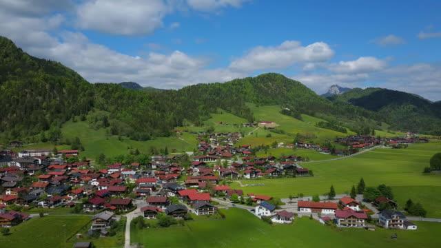 View of the village Reit im Winkl, Upper Bavaria, Bavaria, Germany