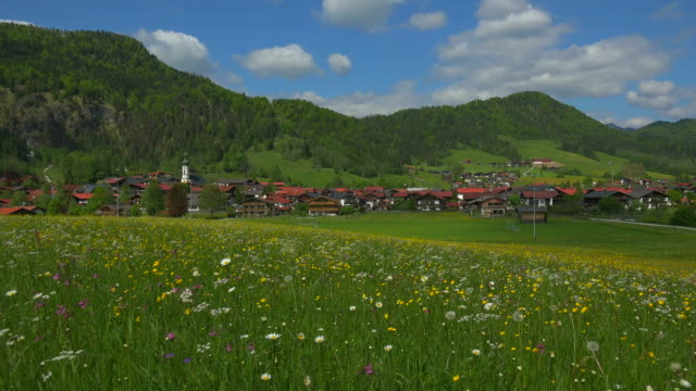 View of the village Reit im Winkl, Upper Bavaria, Bavaria, Germany