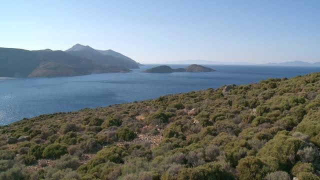 WS View of Tilos Island  / Tilos, Dodecanese islands, Greece
