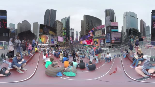 VR view of Times Square New York