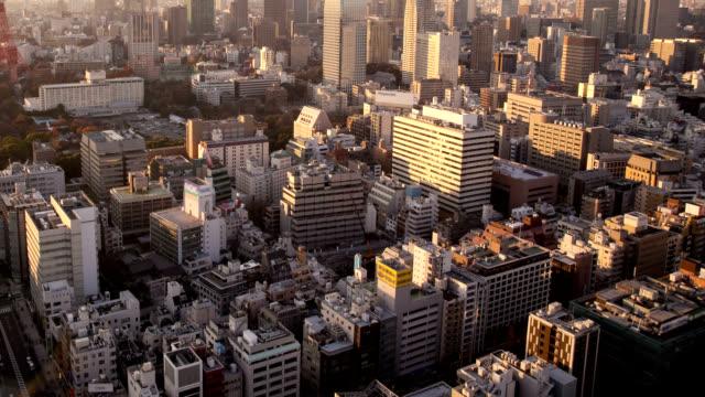 東京のダウンタウンの眺め