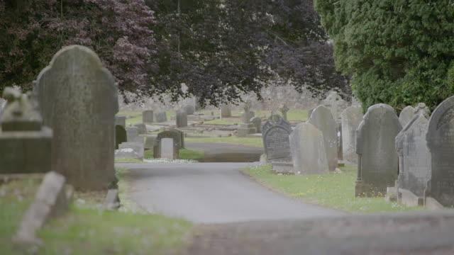 WS TD View of Torquay cemetery / London, United Kingdom