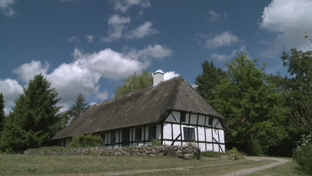 WS T/L View of traditional build old house / Denmark, Denmark