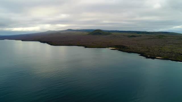 View of Tranquil Waterfront in Galapagos Islands