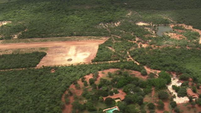 ws aerial view of trees / minas gerais, brazil - minas stock videos and b-roll footage