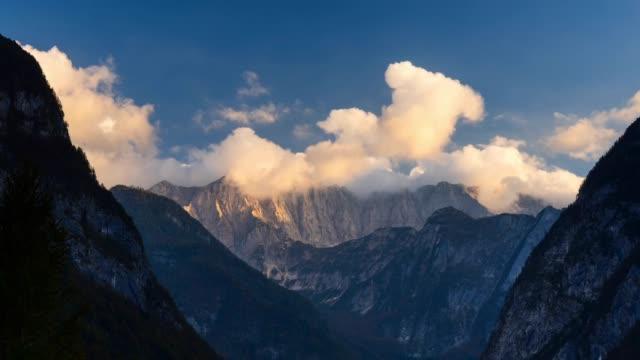 view of triglav national park - triglav national park stock videos and b-roll footage
