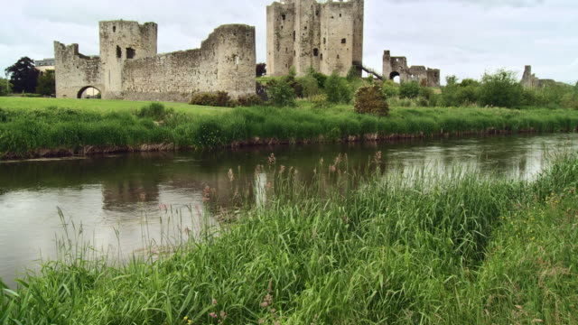 WS TU View of trim castle / Trim, County Meath, Ireland