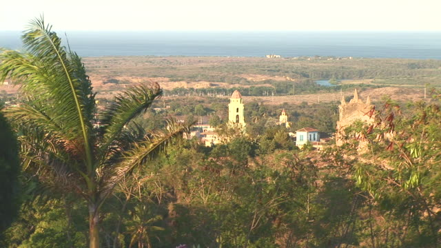 ws view of trinidad city / trinidad, sancti spiritus, cuba - sancti spiritus province stock videos and b-roll footage