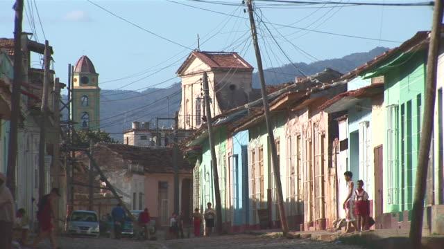 WS View of Trinidad streets with houses / Trinidad, Sancti Spiritus, Cuba