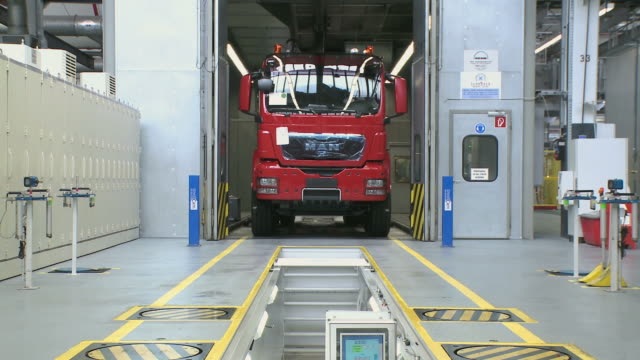 MS View of truck production MAN AG / Munich, Bavaria, Germany