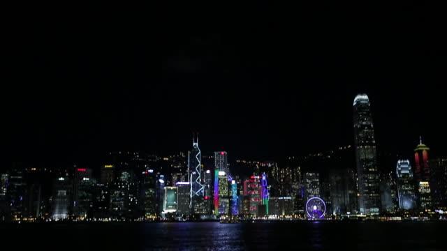 view of tsim sha tsui - tsim sha tsui stock videos & royalty-free footage