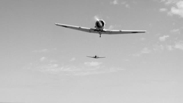 WS LA View of two fighter plane in flight