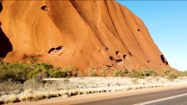 view of uluru august 13, 2019 in the uluru-kata tjuta national park, australia. the uluru-kata tjuta national park board decided unanimously that the... - 12 13 years stock videos & royalty-free footage