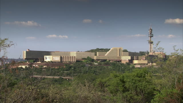 WS PAN View of union buildings / Pretoria, Tshwane, South Africa