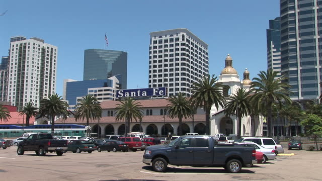 View of Union Station in San Diego United States
