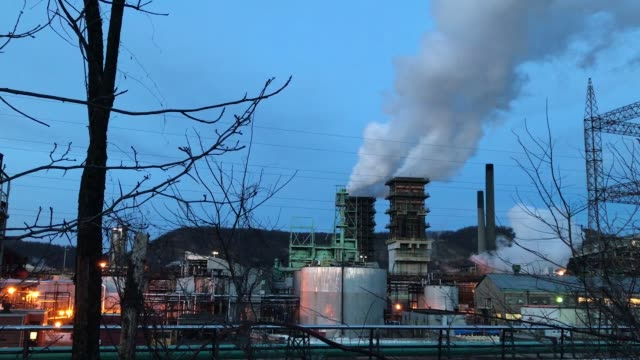 a view of us steel clairton works march 11 2018 in clairton pennsylvania clairton works is the largest coal coking facility in north america and... - tariff stock videos & royalty-free footage