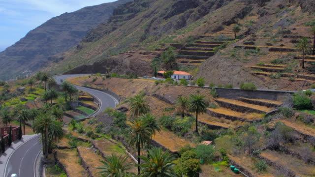 View of Valle Gran Rey on Canary Islands La Gomera in the province of Santa Cruz de Tenerife - Spain