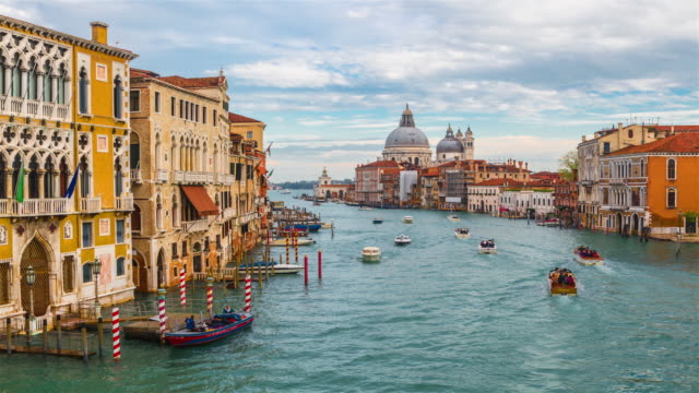 view of venice, italy. - venice italy stock videos & royalty-free footage