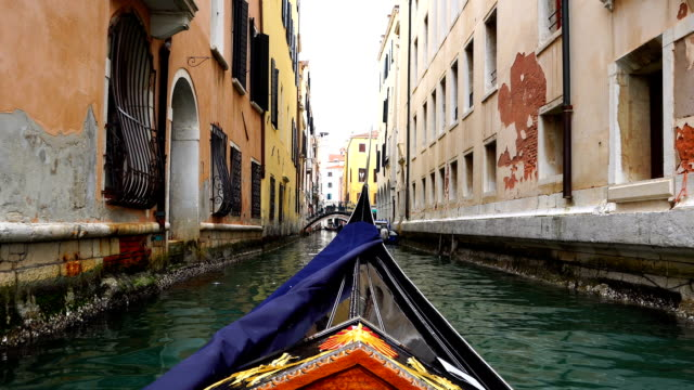 View of Venice on a Gondola