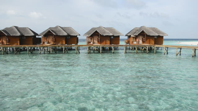 WS View of Water bungalows / Maafushi, Kaafu Atoll, Maldives