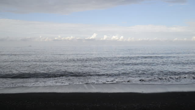WS View of waves at seashore / Tumbalen, Indonesia