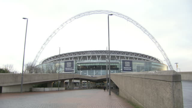 WS PAN View of Wembley Stadium / London, United Kingdom