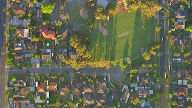 WS AERIAL View of werribee suburb / Melbourne, Victoria, Australia