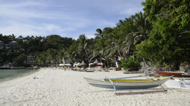 WS View of White Beach, / Boracay, Philippines