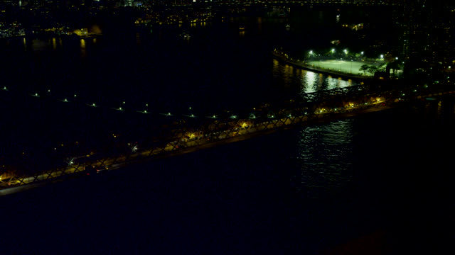 """""""ws aerial ha view of williamsburg bridge in city / new york city, united states"""" - williamsburg bridge stock videos and b-roll footage"""