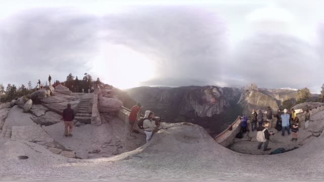 VR view of Yosemite National Park