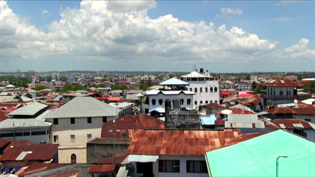 view of zanzibar city - africa - zanzibar archipelago stock videos & royalty-free footage