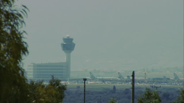 WS View ofnternational Airport Eleftherios Venizelos / Athens, Greece