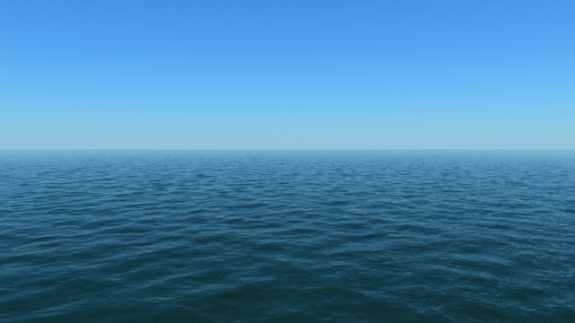 view out to sea - calm waters - horizon over water stock videos & royalty-free footage