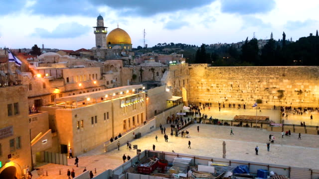 view over alaqsa mosque and the old city on march 31 2018 in jerusalem israel thousands of tourists and pilgrims have descended on the holy city of... - al aqsa mosque stock videos and b-roll footage