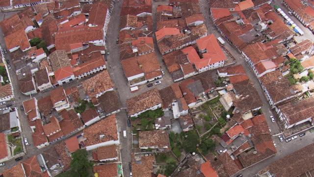 WS AERIAL DS View over Diamantina / Minas Gerais, Brazil