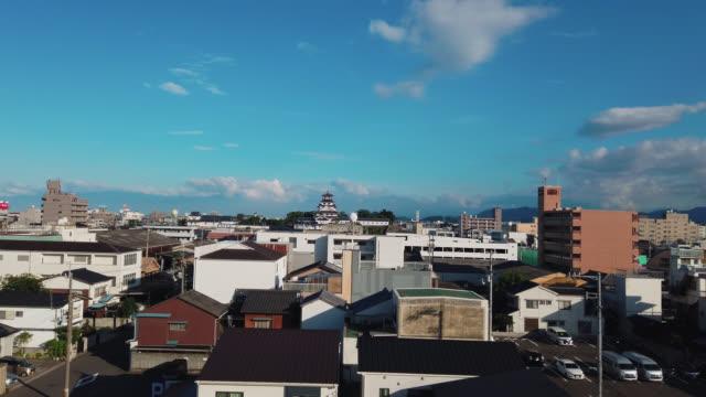 view over imabari city, shikoku, japan, start of the shimanami kaido - nishiseto expressway stock videos & royalty-free footage
