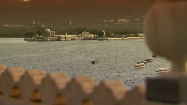 A view over Lake Picholar, Udaipur.