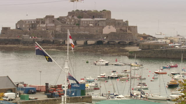 WS View over port / St. Peter Port, Guernsey, United Kingdom