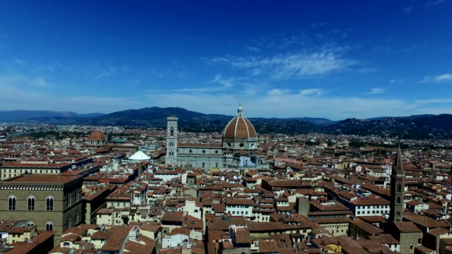 View over the City of Florence in Tuscany, Italy