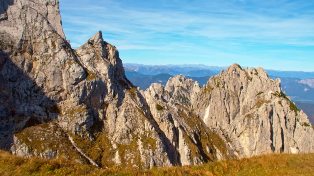 ws view over the julian alps - ridge stock videos & royalty-free footage