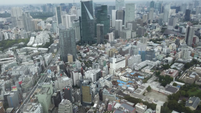 view over tokyo - tokyo midtown stock videos & royalty-free footage