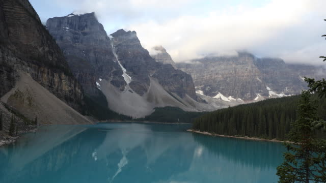 View overlooking Lake Moraine