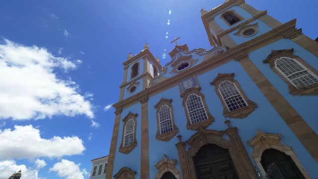 vídeos y material grabado en eventos de stock de vista a largo pelourinho en el centro de salvador, bahía, brasil - bahía