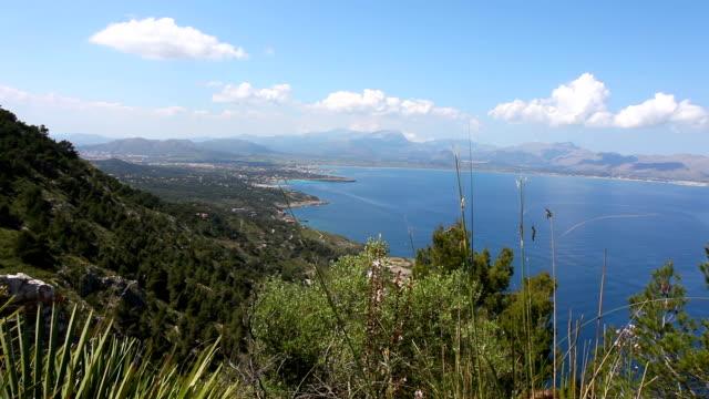 View to Pollenca Port - mallorca