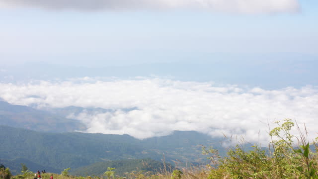 viewpoint on the mountain in thailand, 4k - mayan stock videos & royalty-free footage