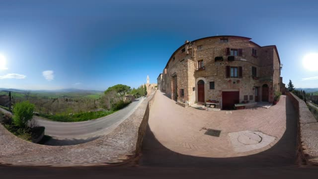 360 VR / Viewpoint to Pienza and Val d'Orcia