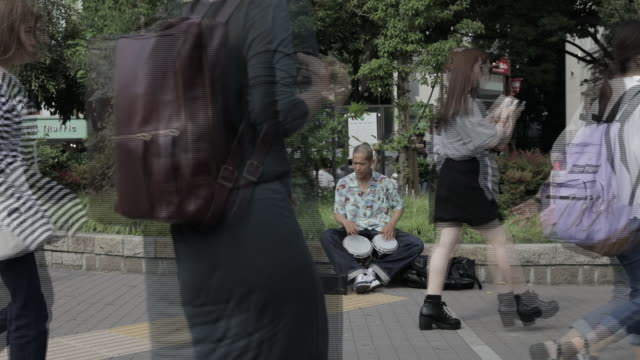 stockvideo's en b-roll-footage met views from harajuku tokyo japan on friday june 21 2019 - fish swim