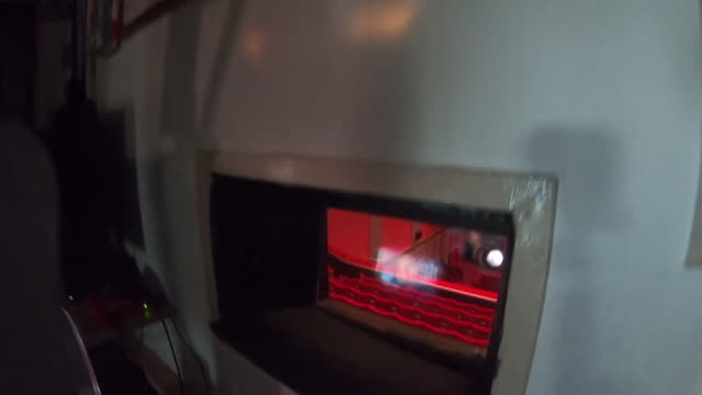 views inside a cinema projection room - film reel stock videos & royalty-free footage